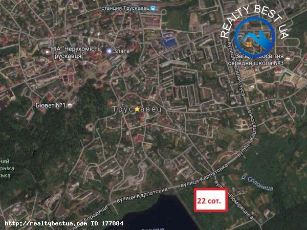 Продажа земельного участка, Трускавец, Помірецька